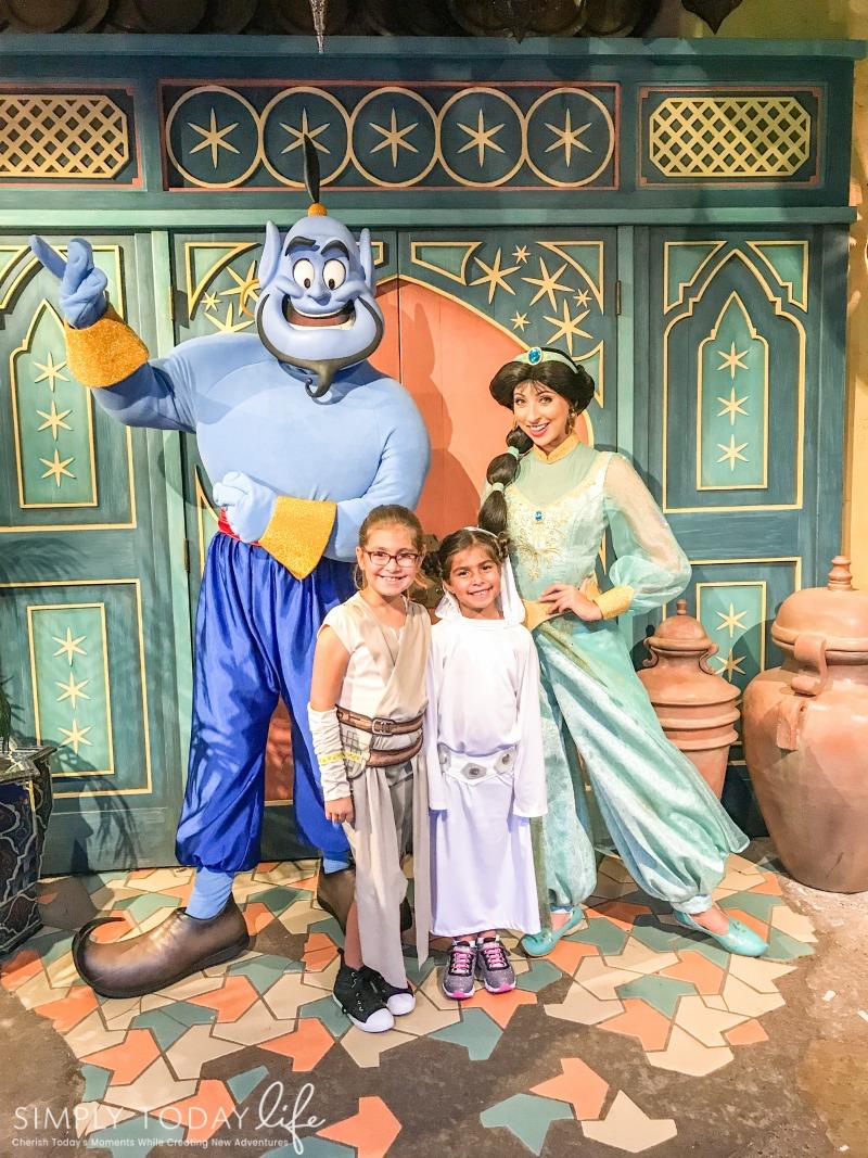 Wearing Costumes At Disney