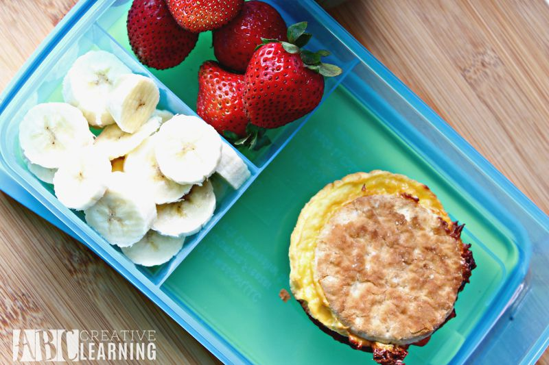 Breakfast on the go with Jimmy Dean sandwiches