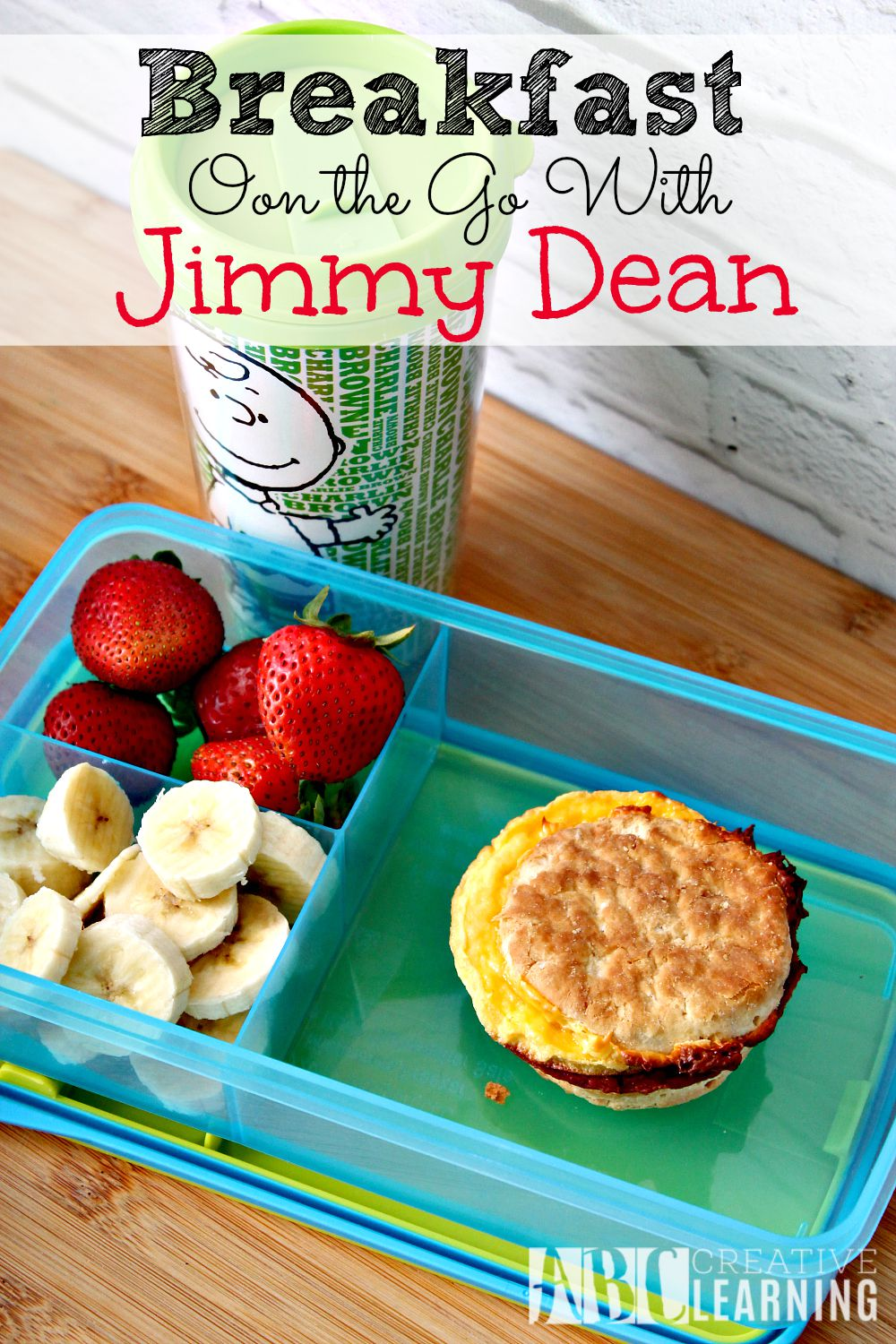 Breakfast on the go with Jimmy Dean