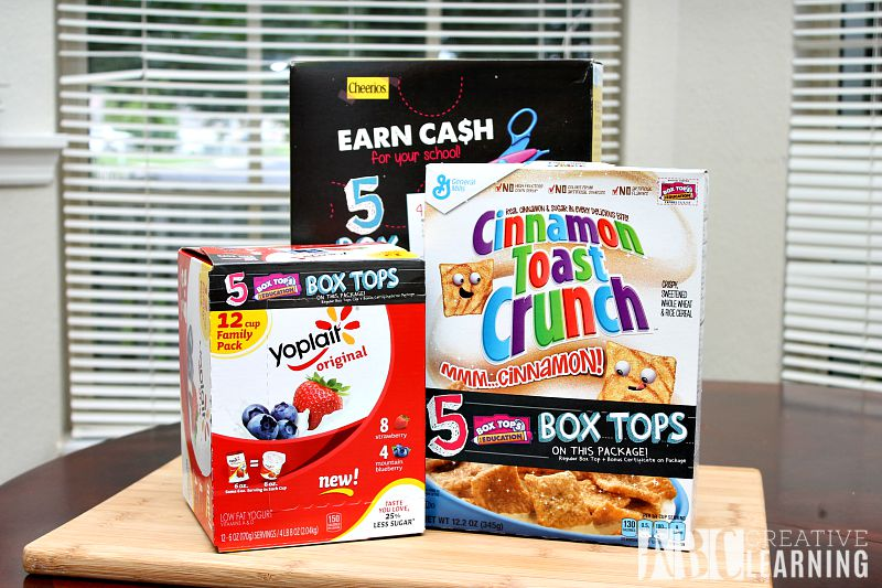 Creating a Community with Box Tops for Education Products