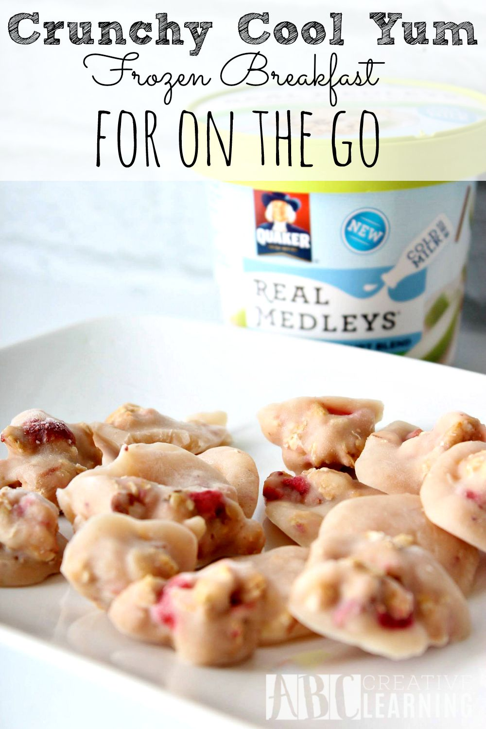 Crunchy Cool Yum Frozen Breakfast for On the Go
