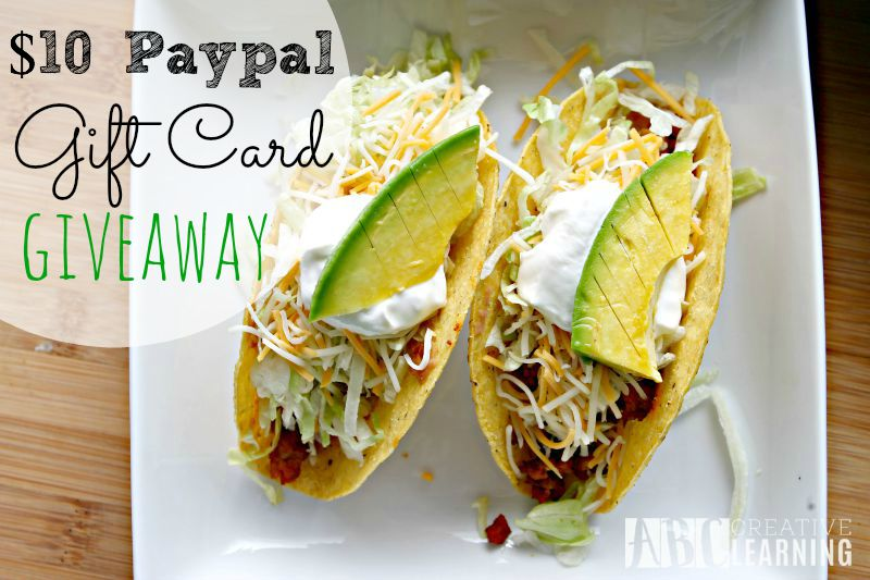 Easy Ground Turkey and Avocado Taco Recipe Paypal Giveaway