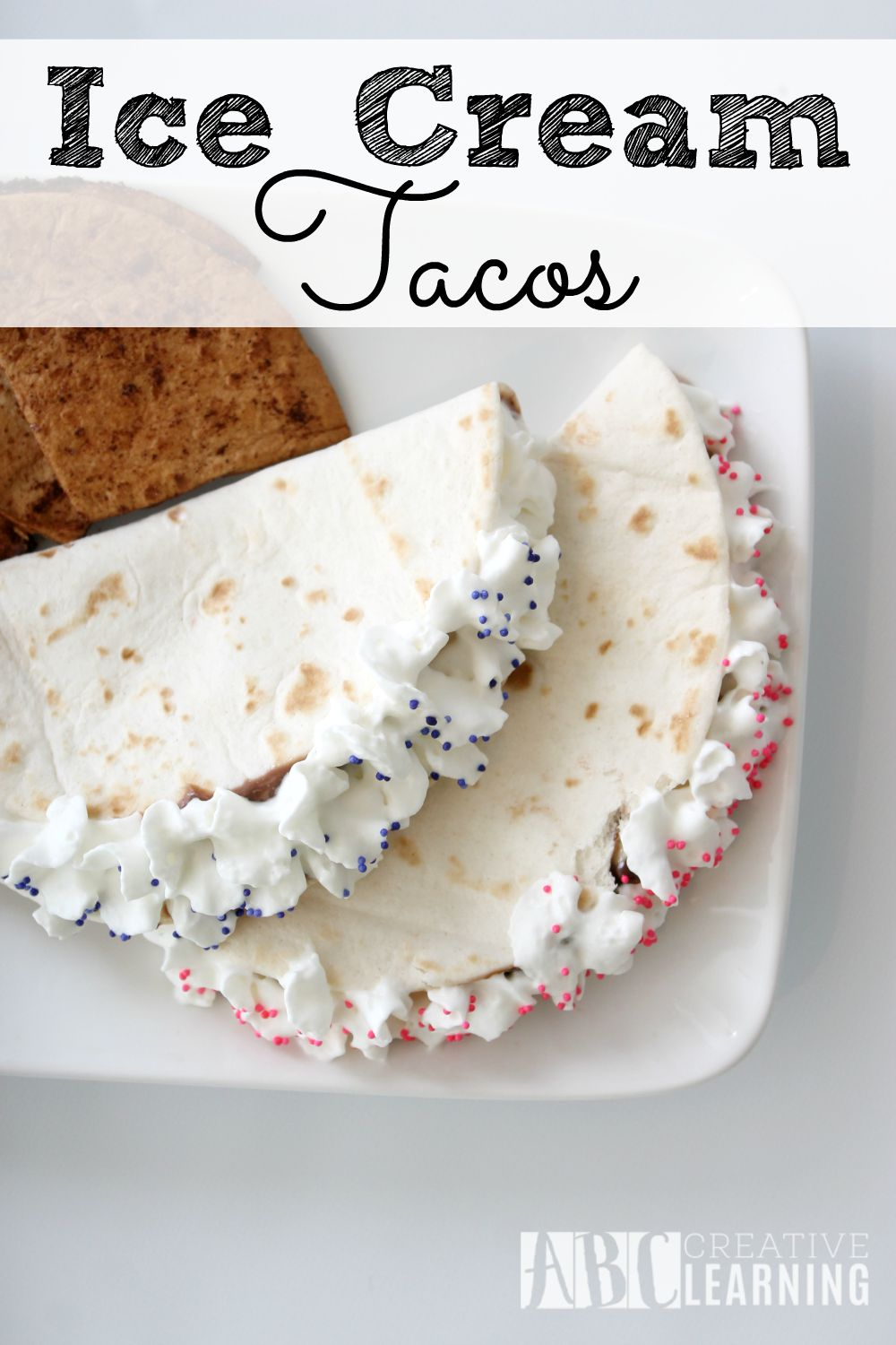Easy Turkey and Avocado Taco Recipe + Paypal giveaway Ice Cream Tacos