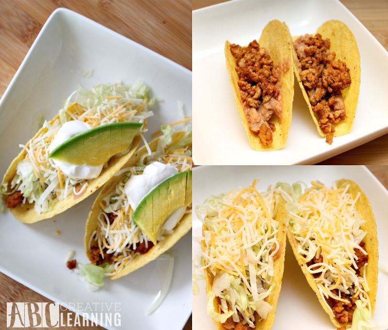Easy Turkey and Avocado Taco Recipe + Paypal Giveaway Steps