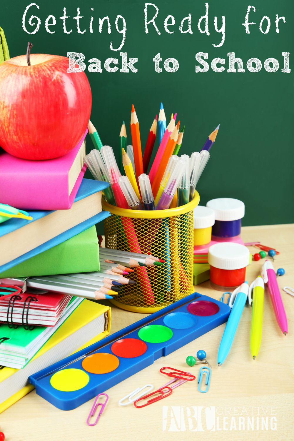 Getting Ready for Back to School can be easy if you and your kids are prepared.