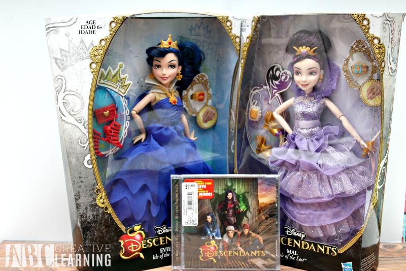 Potion Making with Disney Descendants Mal and Evie