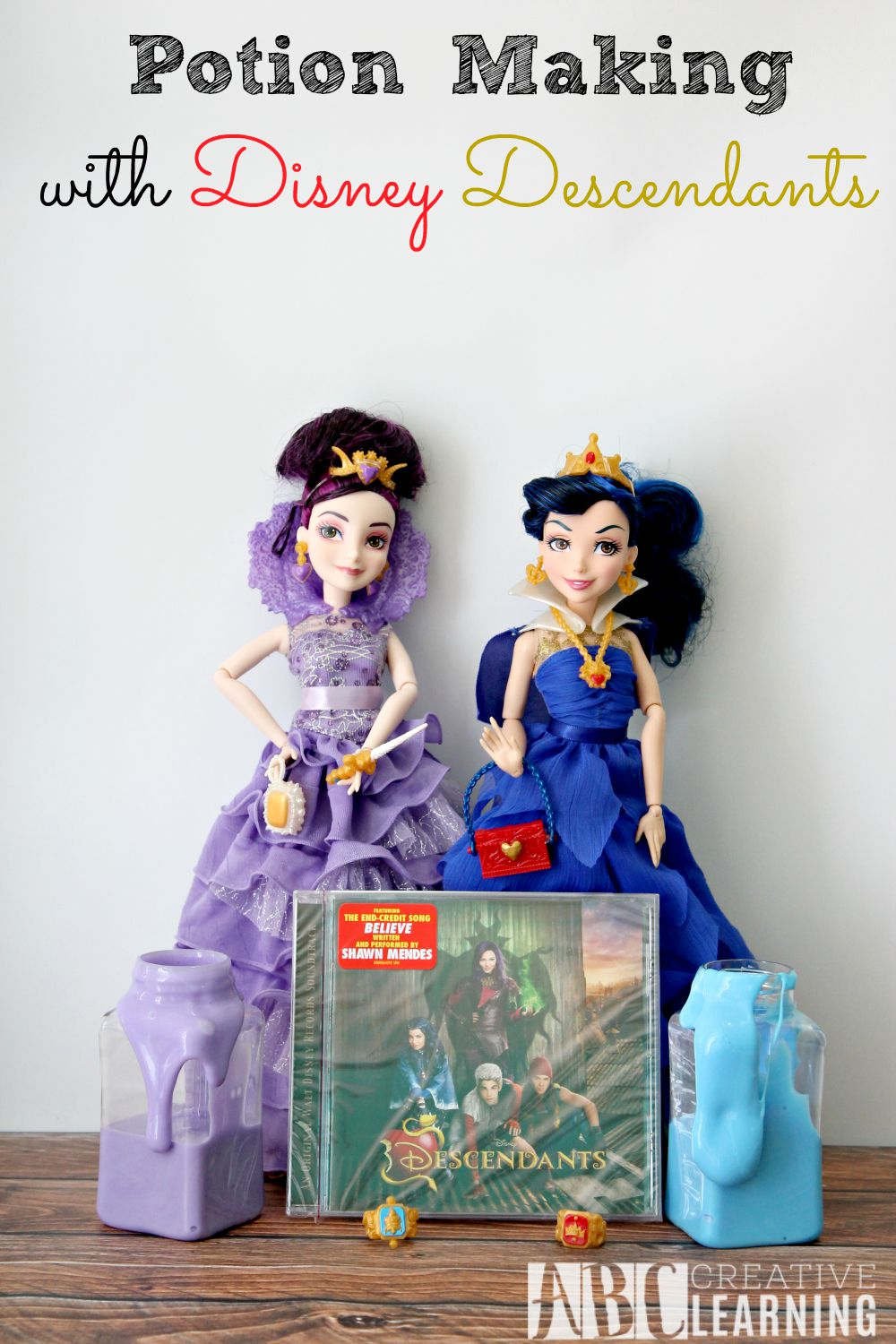 Potion Making with Disney Descendants