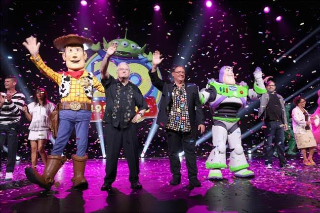 Exciting New Disney Movies Announced at #D23Expo Toy Story Cast