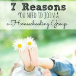 7 Reasons You Need To Join A Local Homeschooling Group