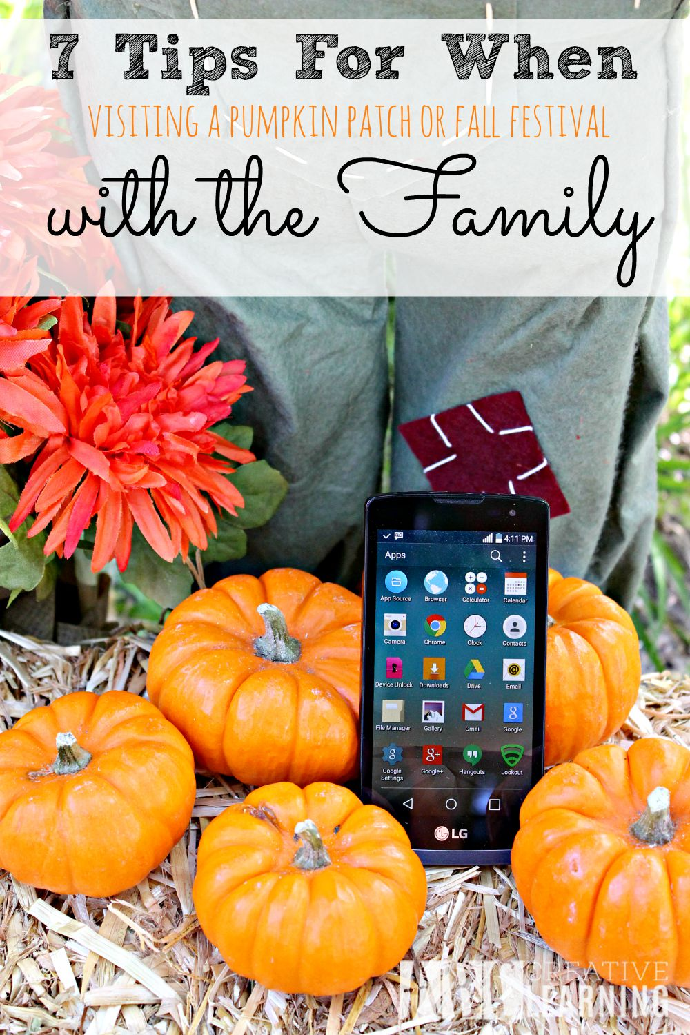 7 Tips When Visiting a Pumpkin Patch or Fall Festival with the Family