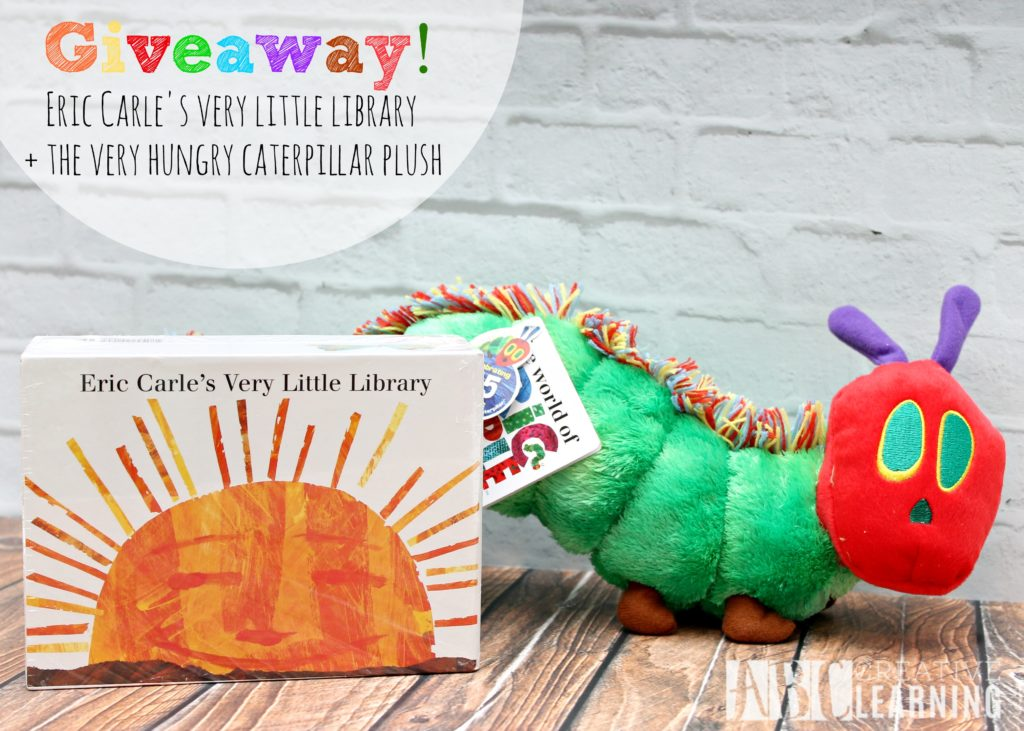 Alphabet Activity Inspired by The Very Hungry Caterpillar + Giveaway pic