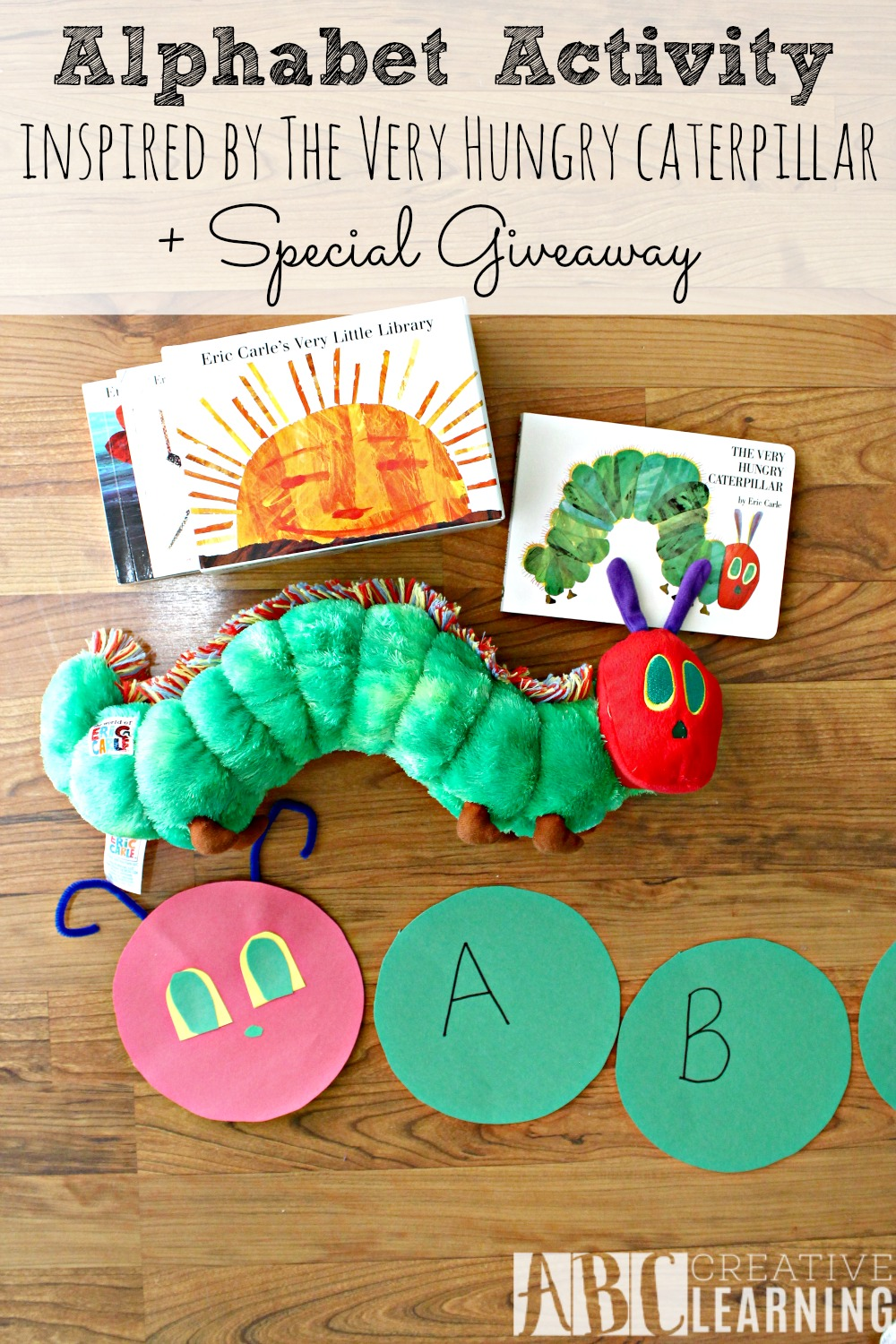 Alphabet Activity Inspired by The Very Hungry Caterpillar