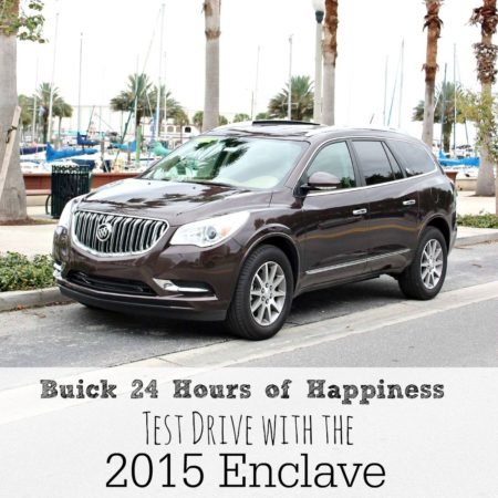 Buick 24 Hours of Happiness Test Drive with the 2015 Enclave