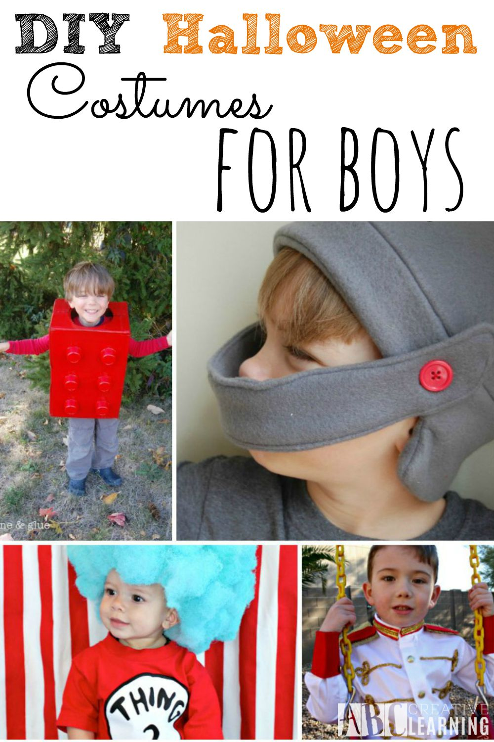 DIY Halloween Costumes for Boys