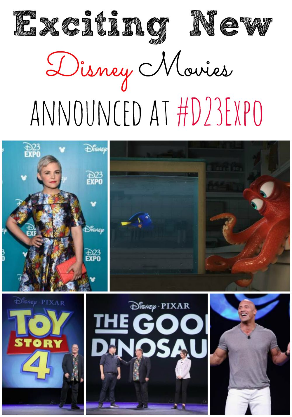 Exciting New Disney Movies Announced at #D23Expo