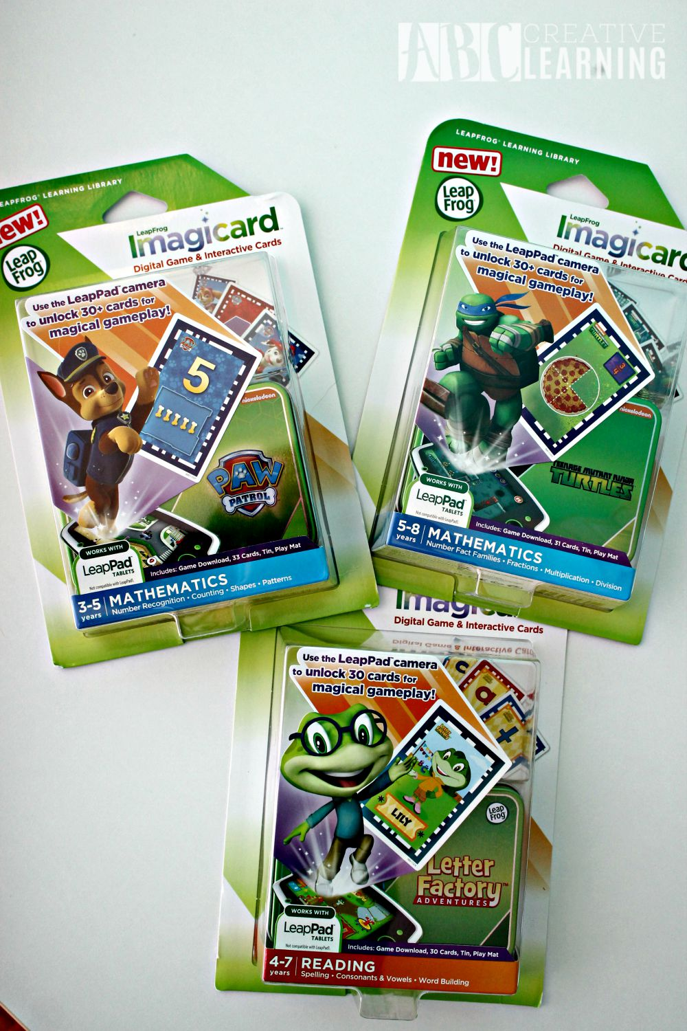 LeapPad Platinum & Word Whammer the Perfect Homeschool Duo Imagicard