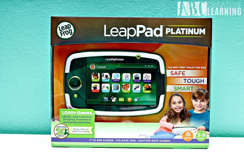 LeapPad Platinum & Word Whammer the Perfect Homeschool Duo in box