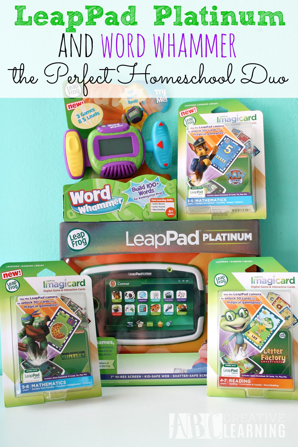 LeapPad Platinum & Word Whammer the Perfect Homeschool Duo