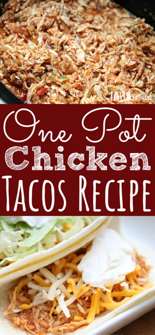One Pot Chicken Tacos