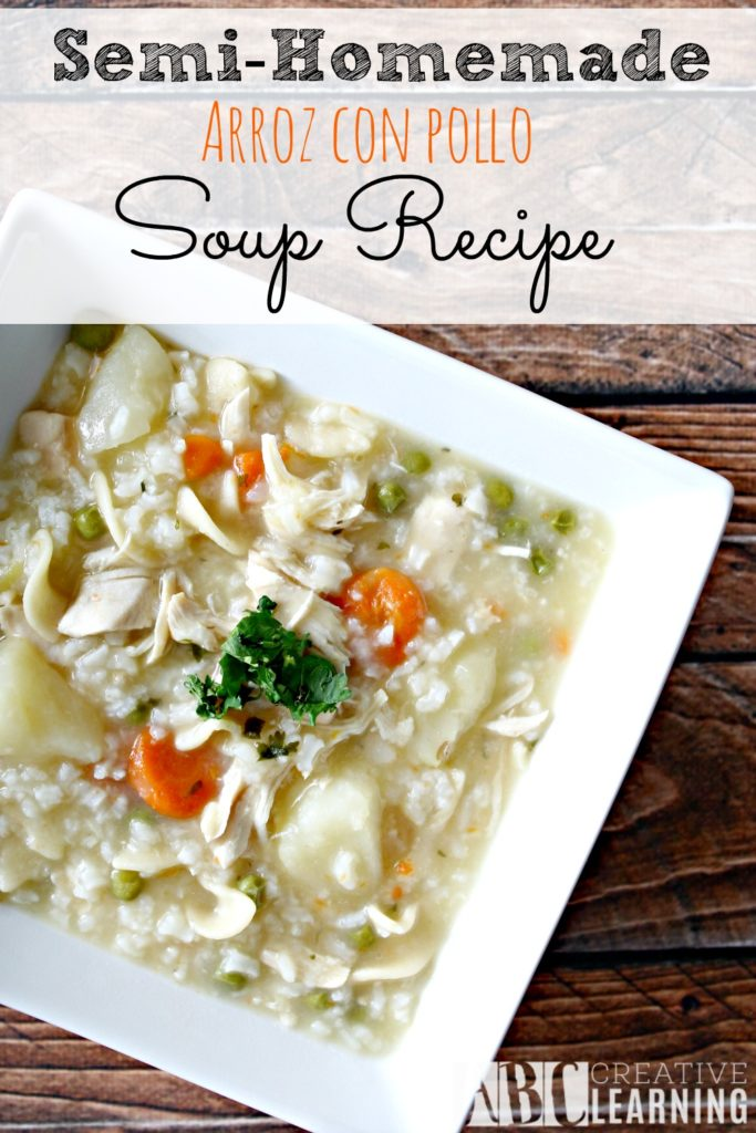 Semi-Homemade Arroz Con Pollo Soup Recipe