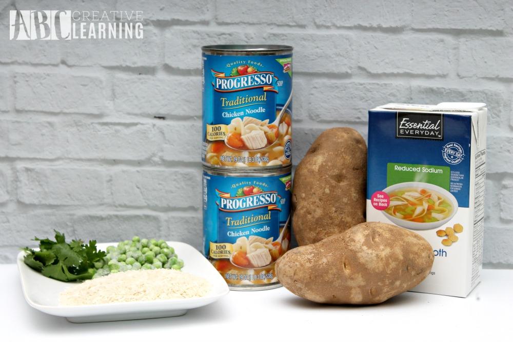 Semi-Homemade Arroz Con Pollo Soup Recipe Ingredients