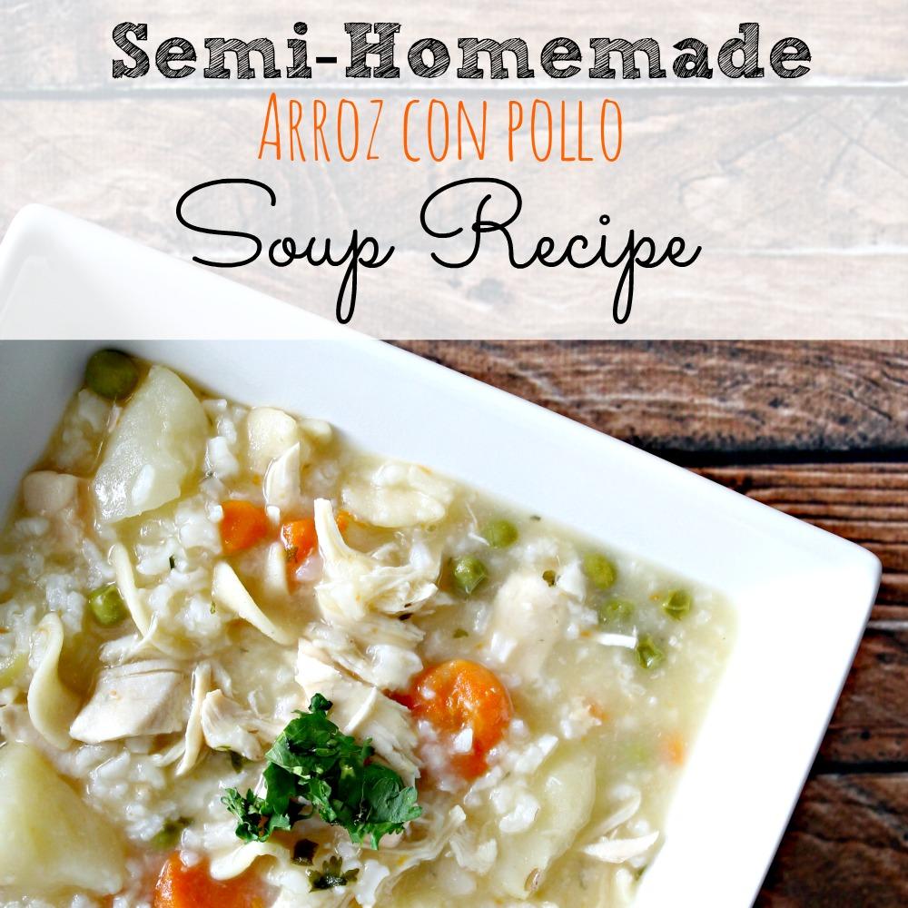 Semi homemade arroz con pollo soup recipe simply today life - Arroz con verduras y costillas ...
