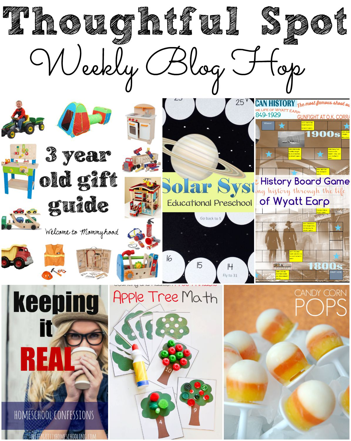 Thoughtful Spot Weekly Blog Hop! A weekly blog hop where family friendly recipes, crafts, homeschooling, and parenting ideas are shared!