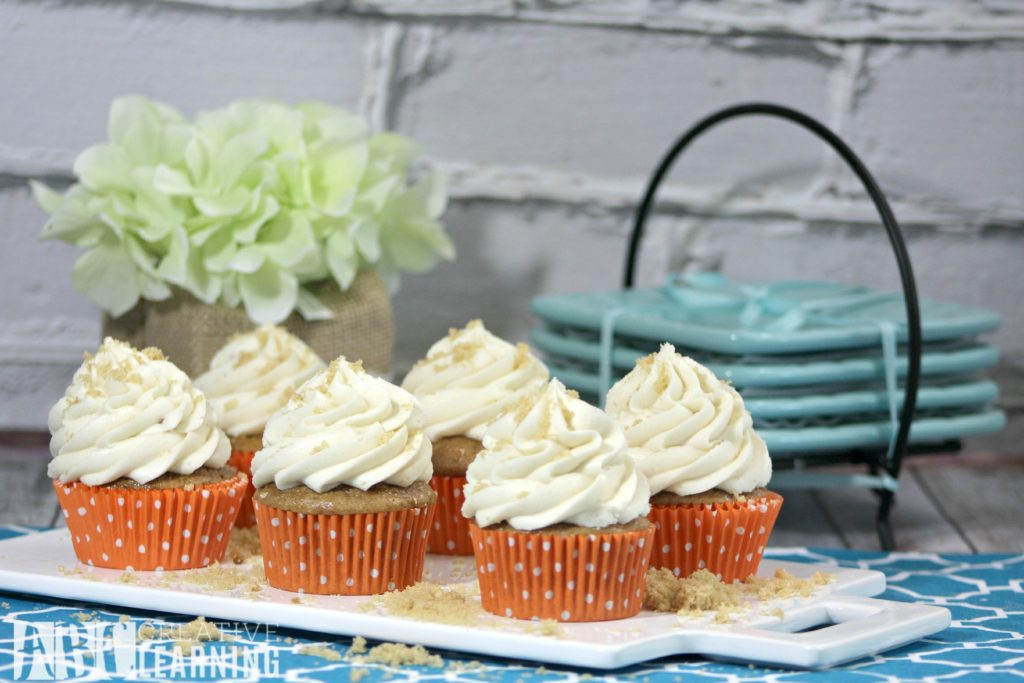 Classic Carrot Cupcake Recipe with Maple Frosting 1