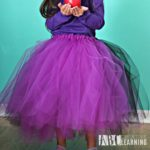 DIY Tutu Tutorial and Easy Family Meal