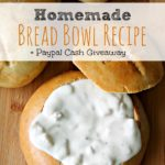 Homemade Bread Bowl Recipe for Fall Soups