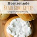 Homemade Bread Bowl Recipe for Fall Soups + Paypal Cash Giveaway SQ