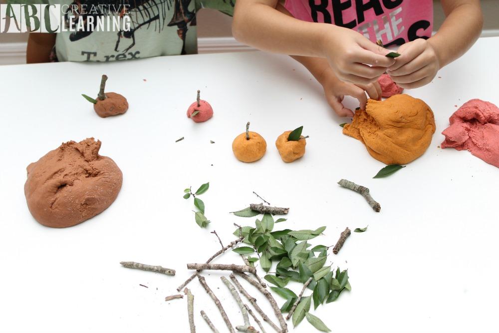 Homemade Fall Playdough Recipe Nature