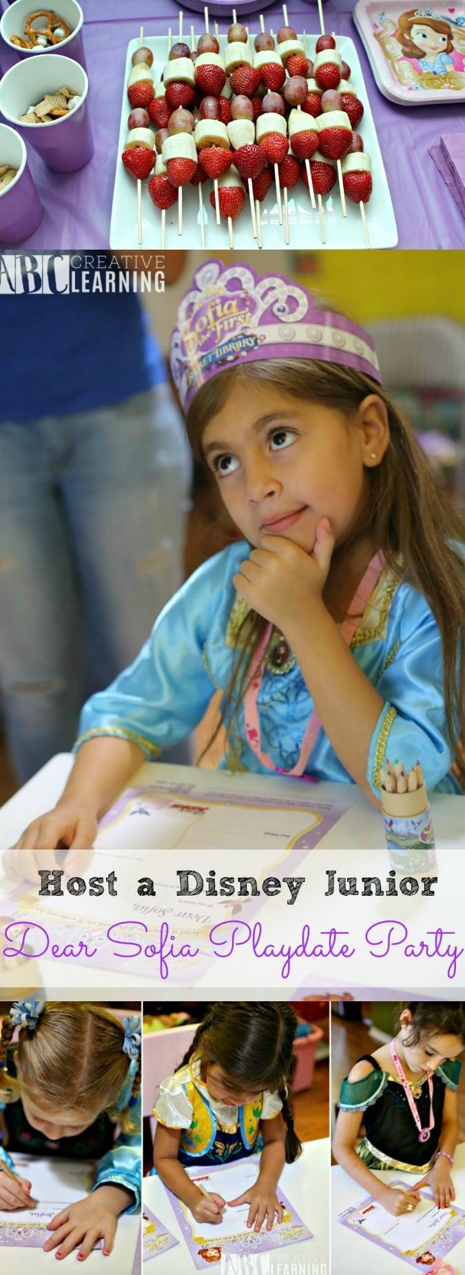 Host a Disney Junior Princess Sophia Playdate Party