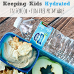 Keeping Kids Hydrated in School + Free Printable