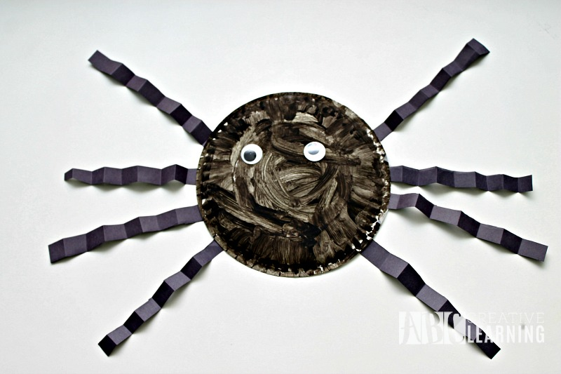 Paper Plate Spider Craft Easy