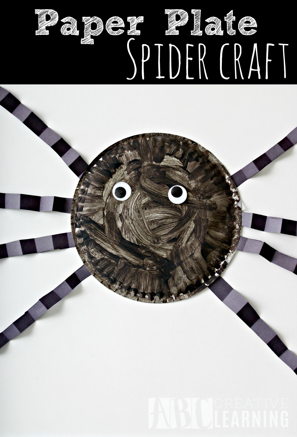& Paper Plate Spider Craft - Simply Today Life