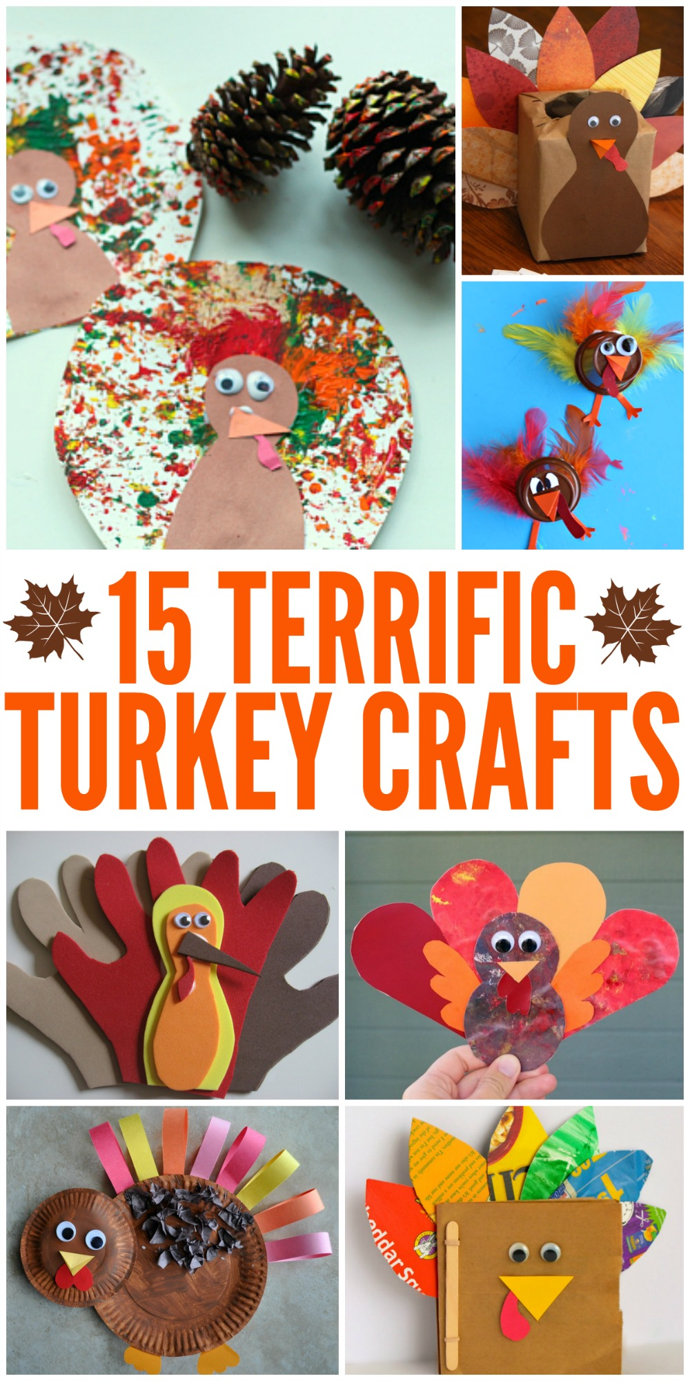10 Terrific Turkey Crafts