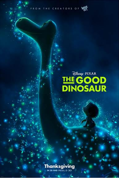 New Trailer and Poster for Disney Pixar's The Good Dinosaur #GoodDino