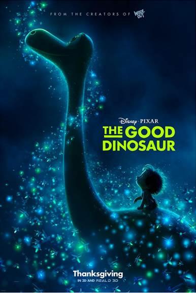 New Trailer and Poster for Disney Pixar's The Good Dinosaur #GoodDino