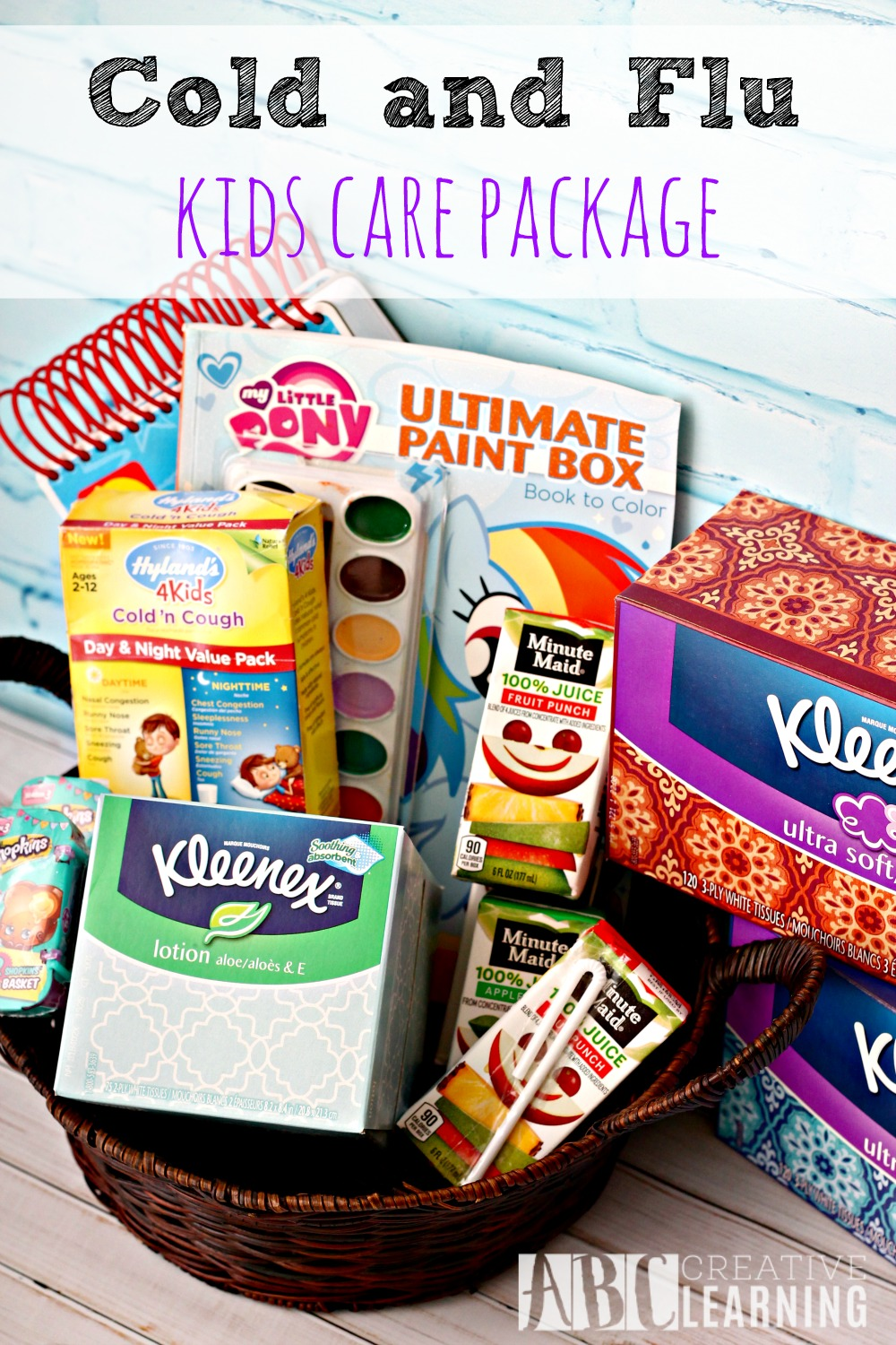 Cold and Flu Kids Care Package