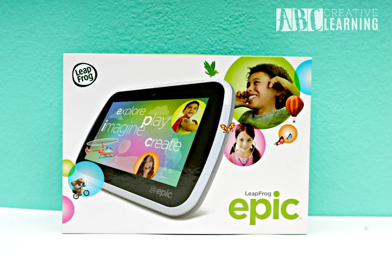 Creativity and Imagination with the LeapFrog Epic Tablet in box