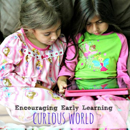 Encouraging Early Learning with Curious World