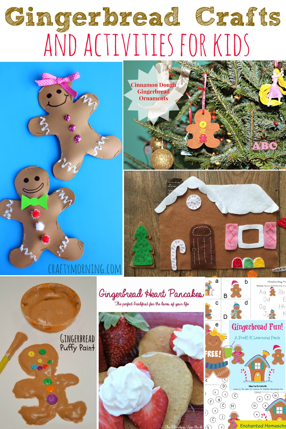 Gingerbread Crafts and Activities