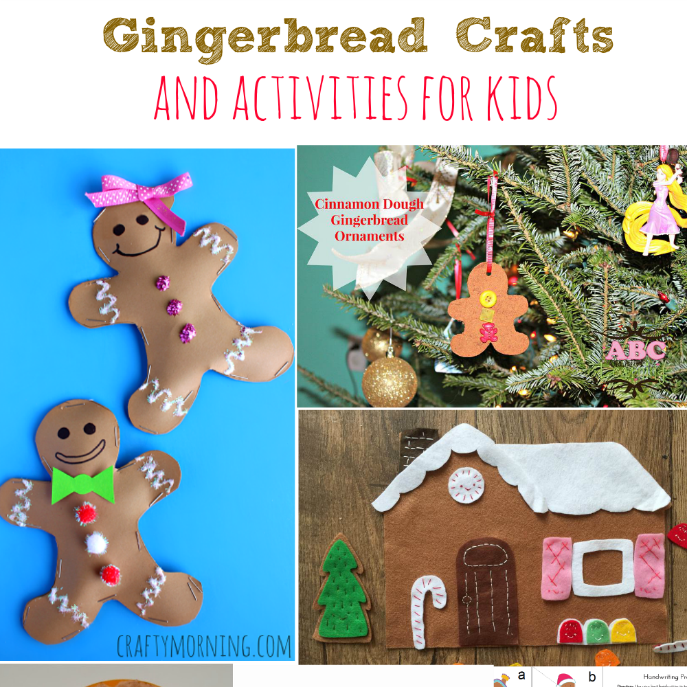 Gingerbread crafts and activities for kids simply today life for Arts and crafts shows in florida