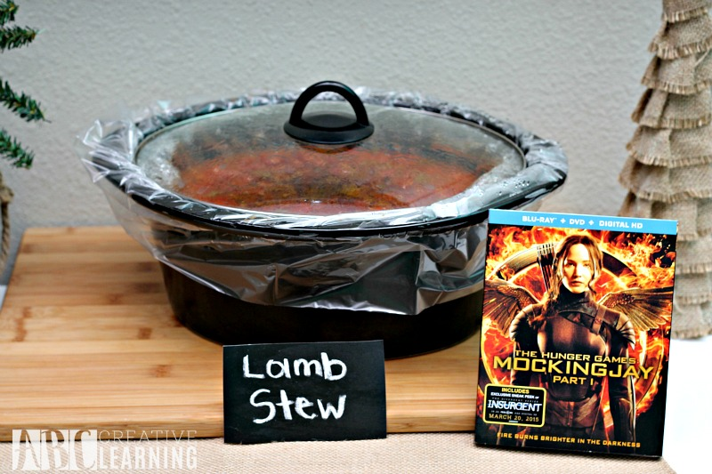 Hunger Games Mockingjay Part 2 Movie Party Lamb Stew