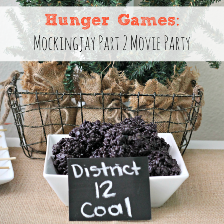 Hunger Games: Mockingjay Part 2 Movie Party