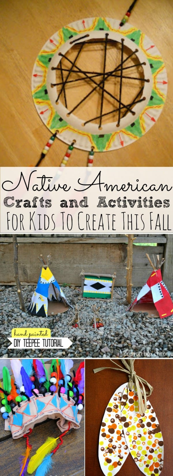 Native American Crafts And Activities For Kids Simply