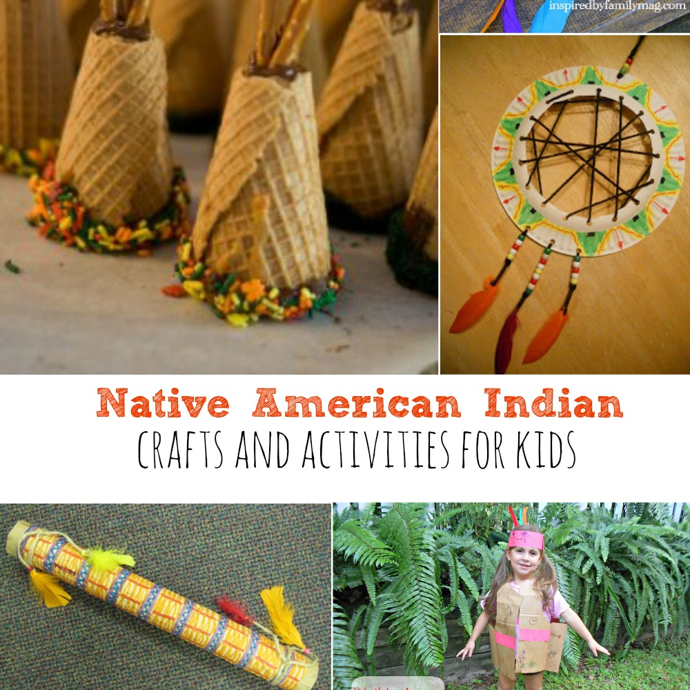 Native american indian crafts and activities for kids for American indian crafts for kids