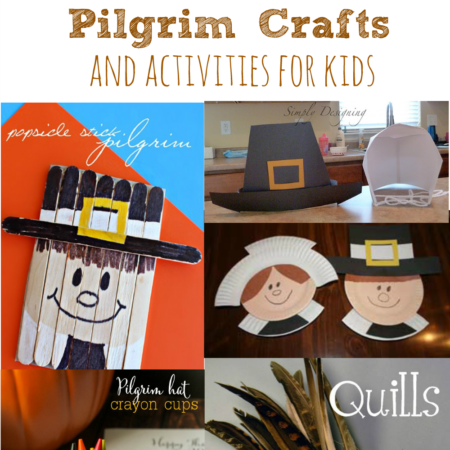 Pilgrim Crafts and Activities for Kids