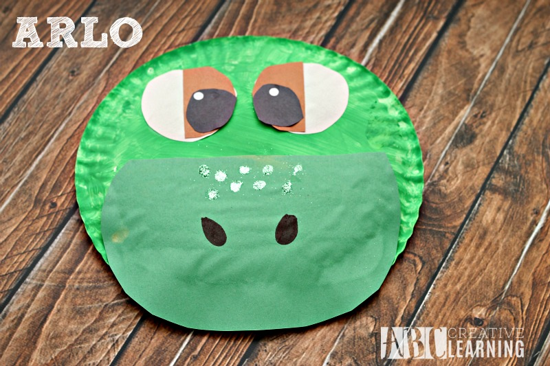 The Good Dinosaur Arlo Paper Plate Craft Arlo